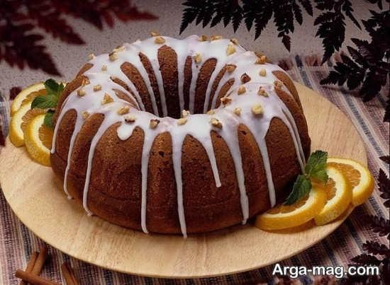 ایده تزئین کیک ساده