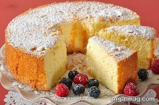 تزئین کیک های ساده