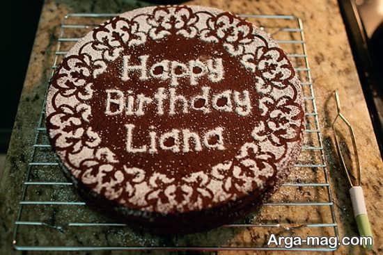 تزئین کیک تولد بدون خامه
