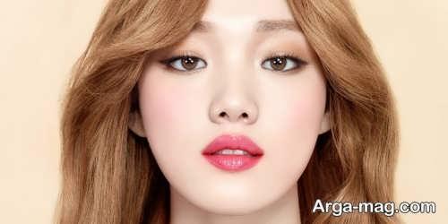 مدل آرایش صورت کره ای
