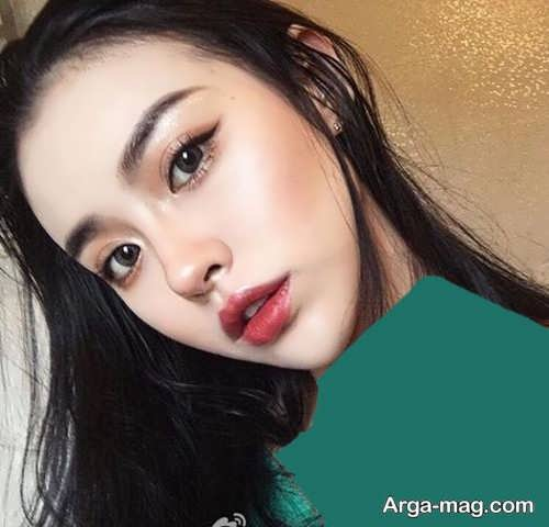 مدل آرایش مجلسی و زیبا کره ای