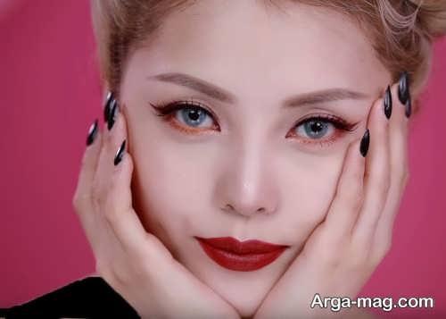 مدل آرایش مجلسی