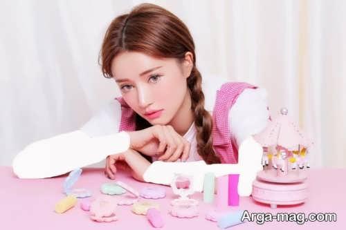 مدل آرایش کره ای دخترانه