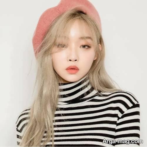 میکاپ دخترانه کره ای