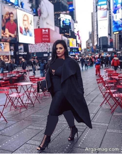 مدل پالتوی بلند زنانه