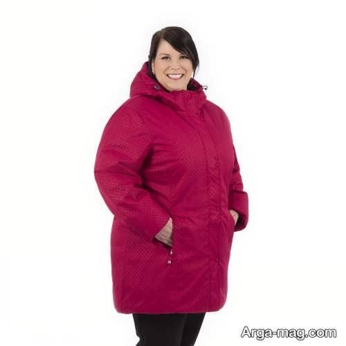 مدل پالتو برای خانم های چاق