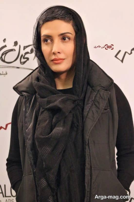 لیلا زارع بازیگر در جشنواره فیلم فجر