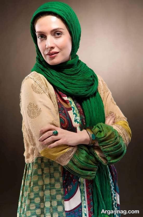 عکس جذاب لیلا زارع بازیگر