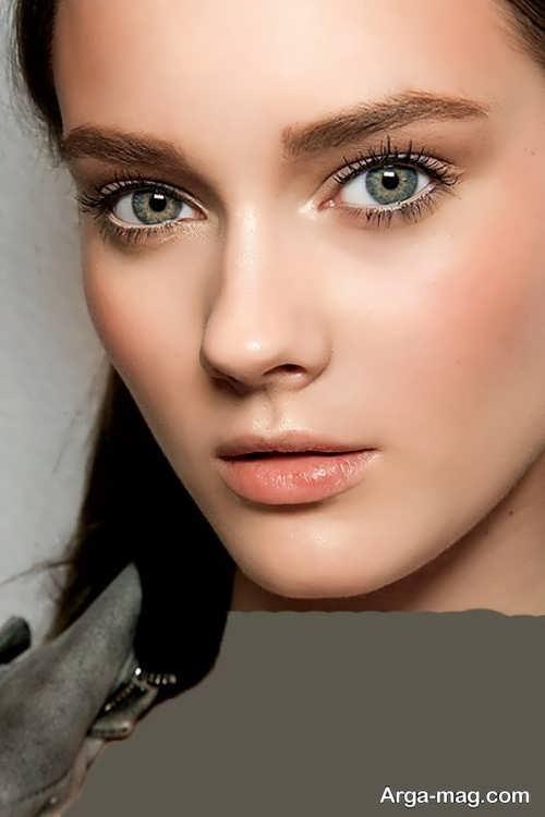 مدل آرایش صورت لایت و زیبا دخترانه