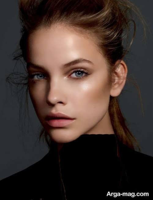 مدل آرایش صورت شیک دخترانه