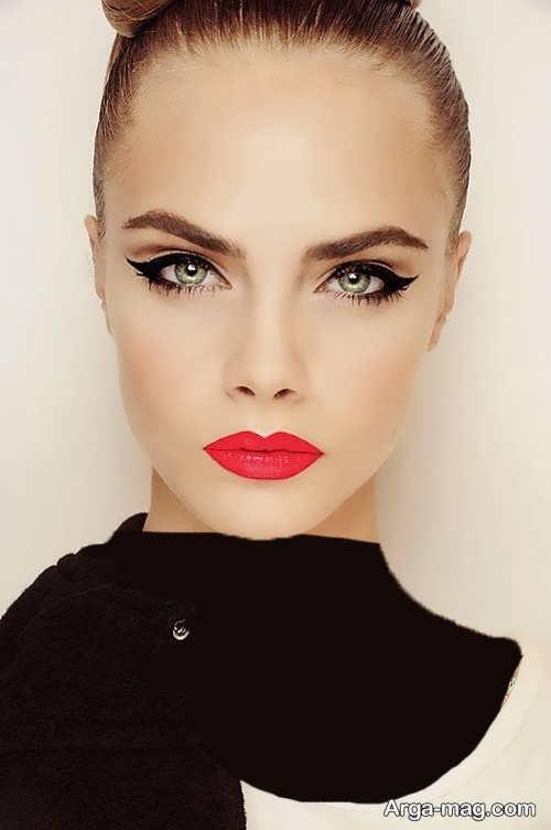 مدل آرایش دخترانه لایت