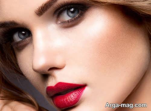 مدل آرایش صورت دخترانه جدید و زیبا