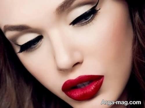 مدل آرایش صورت لایت و شیک دخترانه