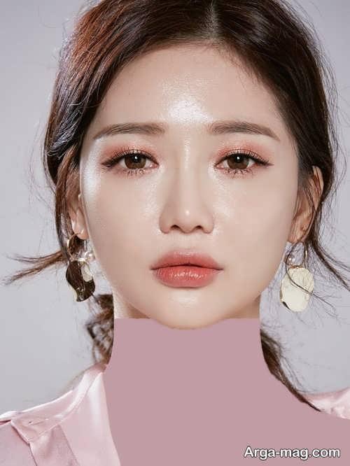 مدل آرایش لایت کره ای دخترانه