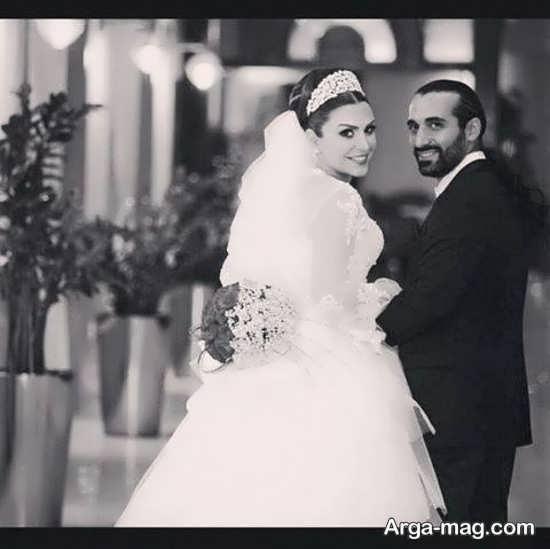 عکس عروسی ماه چهره خلیلی