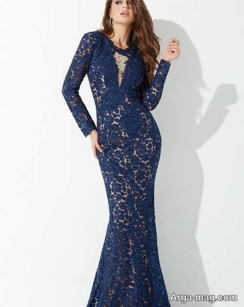 مدل لباس ماکسی گیپور و شیک