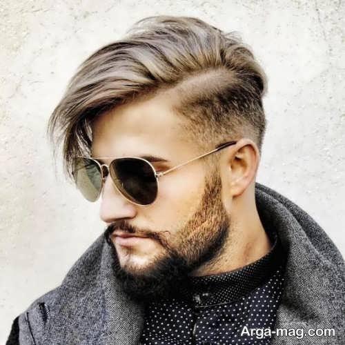 استایل موی مردانه بلند و جذاب