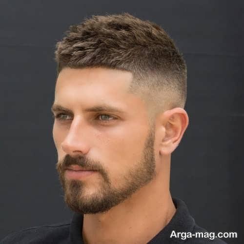 استایل مو کوتاه مردانه