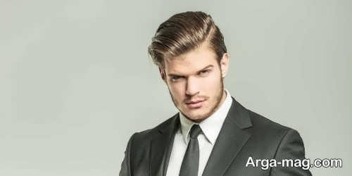استایل موی مردانه ساده و رسمی