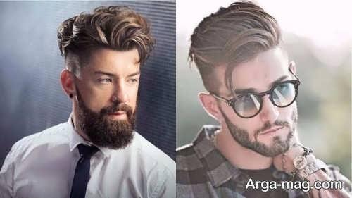 استایل شیک مو مردانه