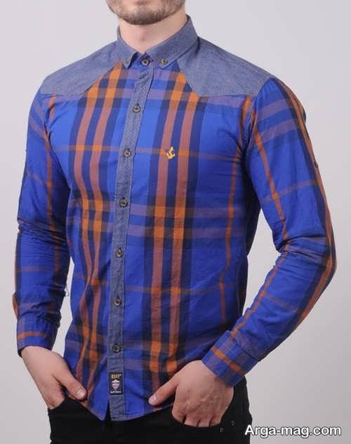 مدل پیراهن زیبا و شیک طرح دار