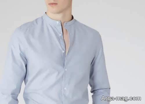 مدل پیراهن ساده یقه دیپلمات