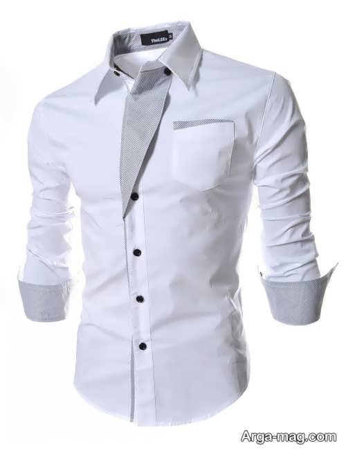 مدل پیراهن شیک و ساده مردانه