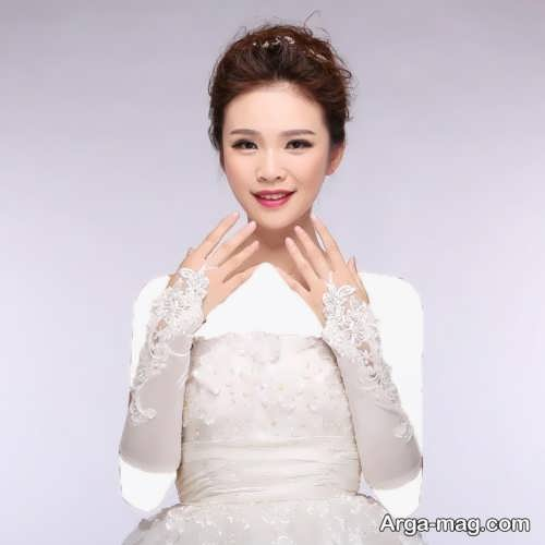 مدل دستکش کره ای عروس