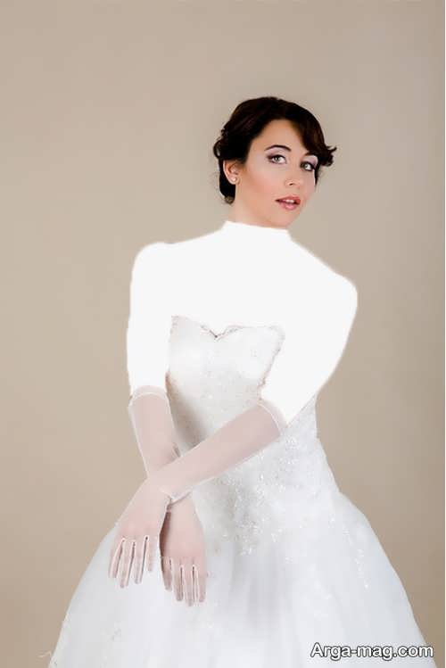 مدل دستکش ساده عروس