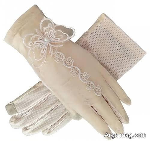 مدل دستکش عروس شیک و جدید
