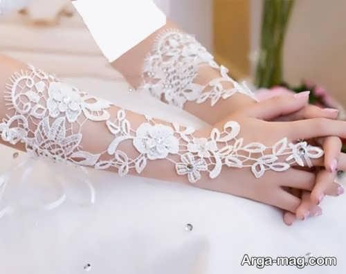 مدل دستکش شیک و جدید عروس