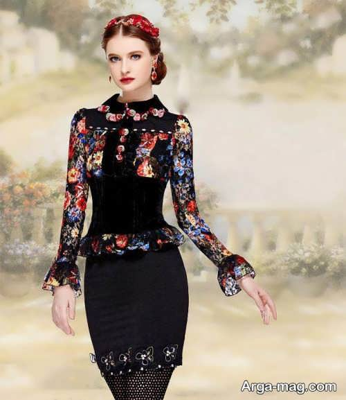 مدل لباس مجلسی تین ایجر