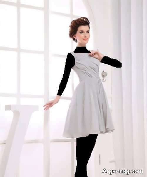 مدل لباس مجلسی ساده تین ایجر