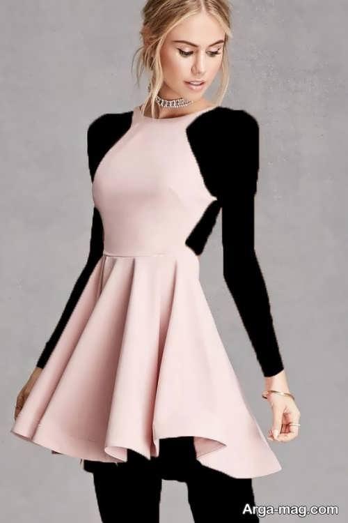 مدل لباس مجلسی ساده و جذاب دخترانه