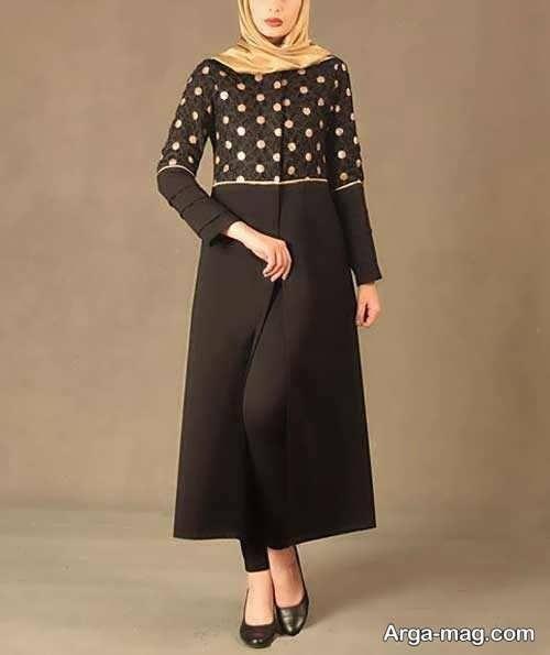 مدل مانتو زنانه بلند