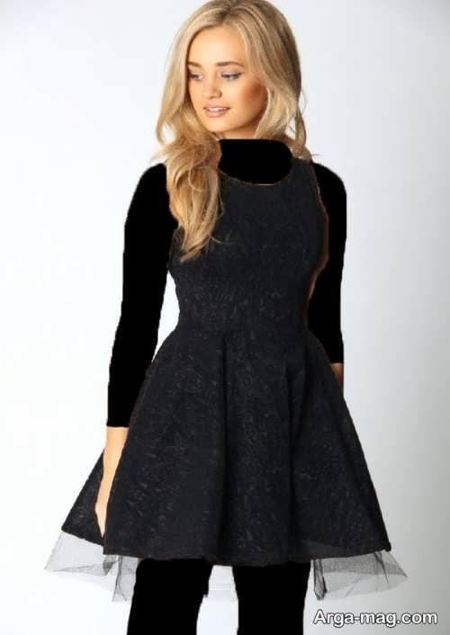 مدل لباس مجلسی دخترانه 2018 کوتاه و شیک