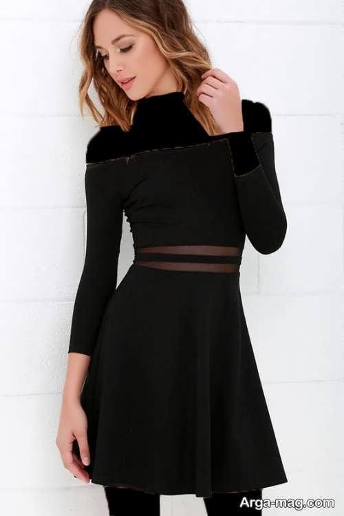 مدل لباس مجلسی کوتاه و شیک دخترانه