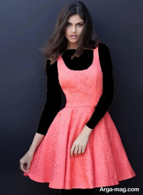مدل پیراهن مجلسی ساده دخترانه