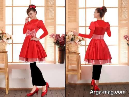 مدل لباس مجلسی کره ای و شیک دخترانه