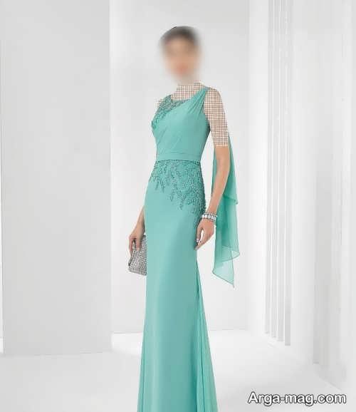 مدل لباس مجلسی بلند و شیک