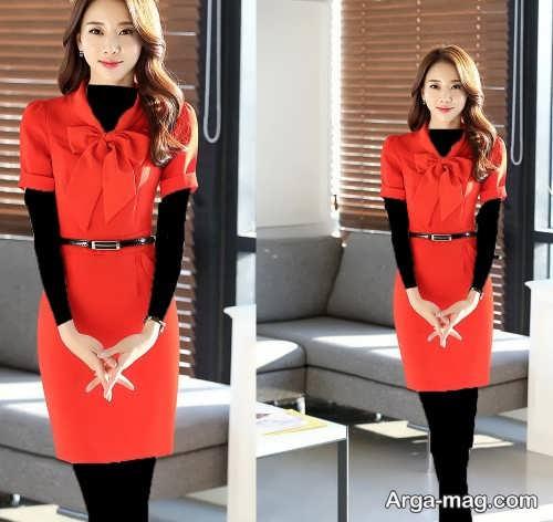 مدل لباس مجلسی زیبا و کوتاه دخترانه