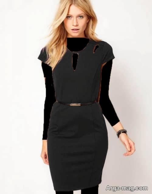 مدل لباس مجلسی ساده و زیبا 2018