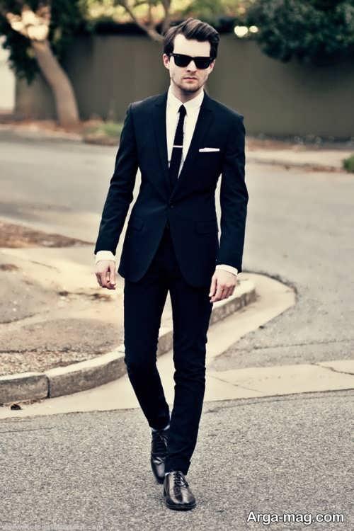 مدل کت و شلوار ساده و شیک مردانه