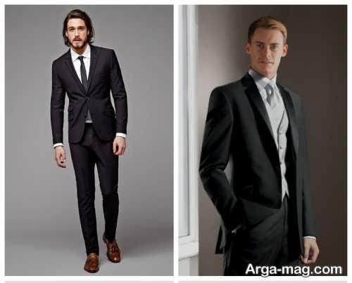 مدل کت و شلوار شیک و رسمی مردانه