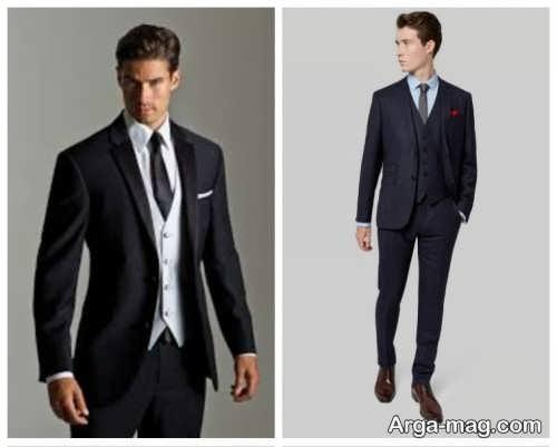مدل کت و شلوار ساده و جدید مردانه