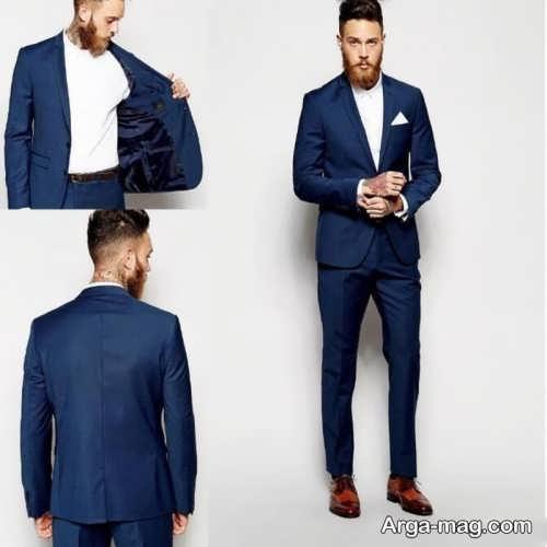 مدل کت و شلوار تیره مردانه