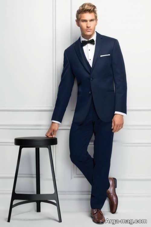 کت و شلوار ساده و رسمی مردانه