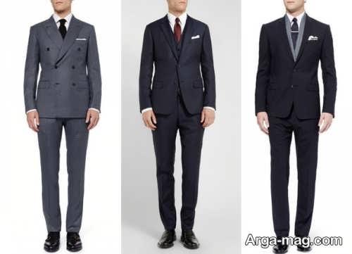 مدل کت و شلوار رسمی و زیبا مردانه