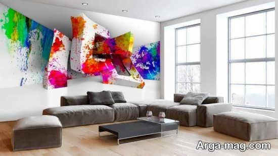 تصاویری از کاغذ دیواری طرحدار