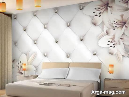 کاغذ دیواری طرحدار زیبا